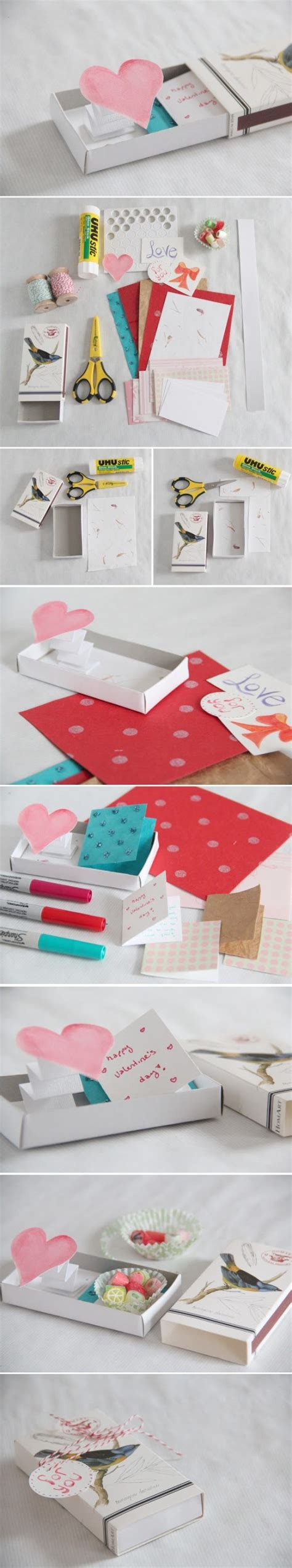 how to make pop up love gift box step by step diy tutorial