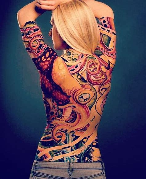 body tattoo on woman 54 best full body tattoo nude body tattoos for girls and