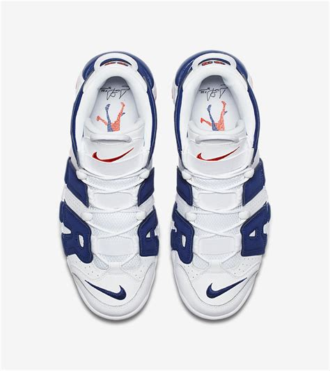 Sepatu Nike Uptempo Air More High White nike air more uptempo 96 white royal blue nike snkrs