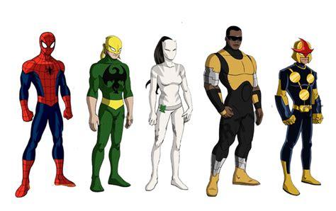 Tas Ransel Boneka Karakter Batman Superheros Marvel 2 infinite spider updates