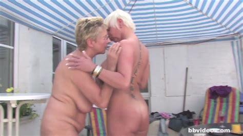 German Mature Lesbians Having An Outdoor Party Hd Porn 33 De