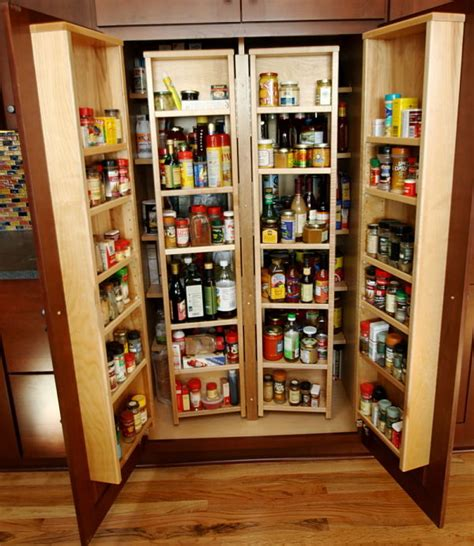 Chef Pantry by Pullout Chef S Pantry With Cherry Cabinets By Mcclurg Remodeling Construction Services For