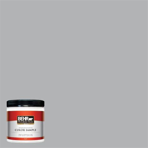 behr premium plus 8 oz 770e 3 pewter mug interior exterior paint sle 770e 3pp the home depot