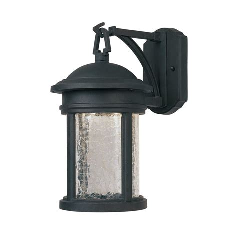 Designer Outdoor Wall Lights Shop Designer S Prado 13 In H Led Rubbed Bronze Outdoor Wall Light At Lowes