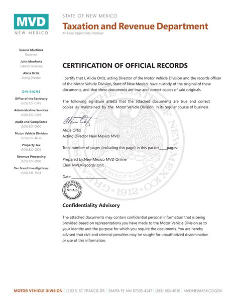 letter of certification for records letter of certification for records 28 images sle