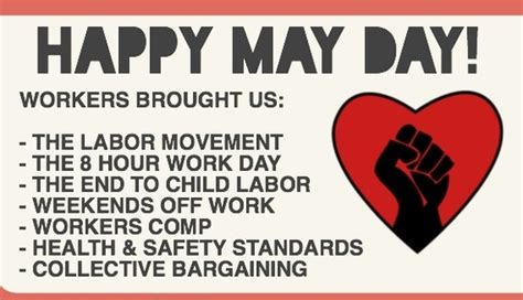 May Day L by Happy May Day Labour Day