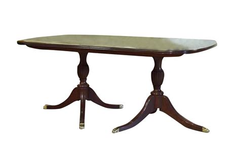 solid mahogany dining table made solid mahogany dining table w 3 leaves