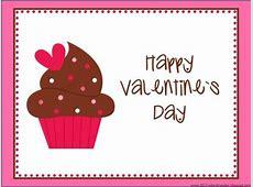 Happy Valentine's Day Cupcake Clipart Happy Valentines Day Clip Art Children
