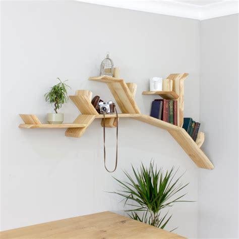 etagere selber bauen the oak tree branch shelf 1 8m size
