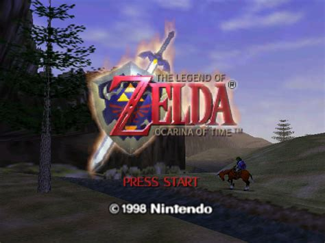 emuparadise legend of zelda legend of zelda the ocarina of time usa rev a rom