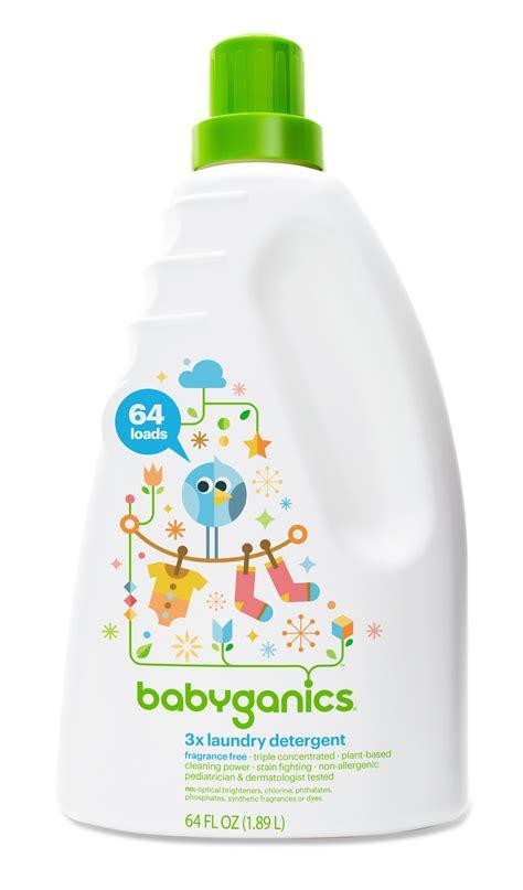 Amazon Com Babyganics 3x Baby Laundry Detergent Baby Laundry