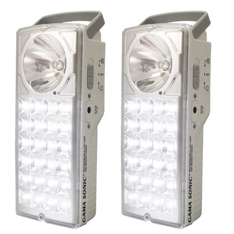 gama sonic 24 led rechargeable battery powered emergency