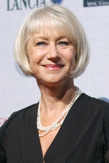 Helen Mirren Hair Cut   Short Hairstyle 2013