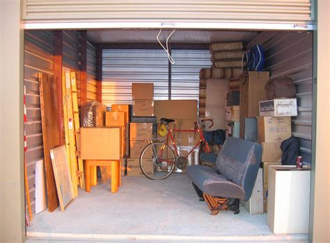 Storage Unit by Renting A Self Storage Unit Vs Buying A Shipping Container