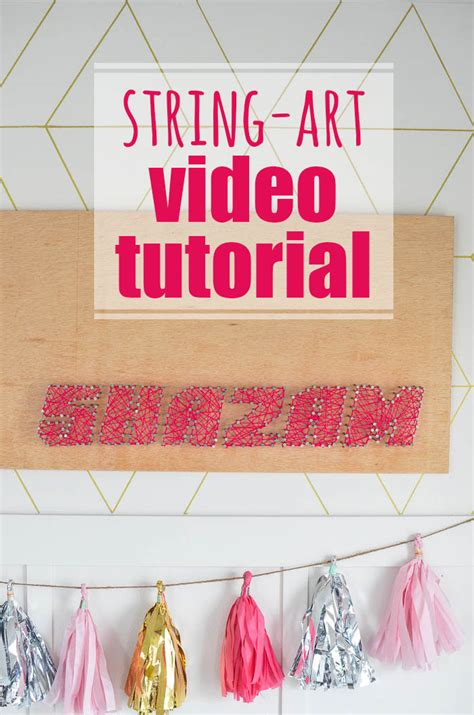 String Tutorial - shazam diy string and tutorial