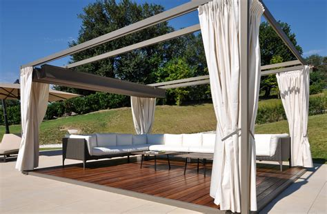 gazebo it gazebo moderno in alluminio modello mood dcoperture