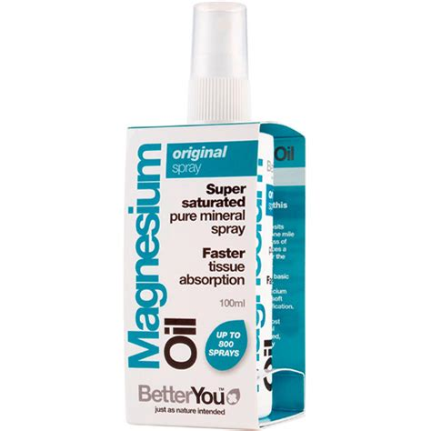 Magnesium Spray Detox by Betteryou Magnesium 214 L Original Spray 100 Ml Terra Elements