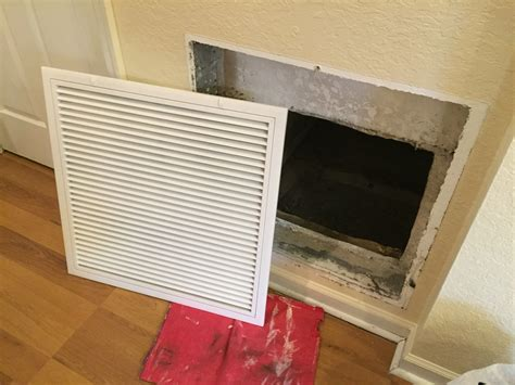 replacing a central air conditioner return vent cover all about the house