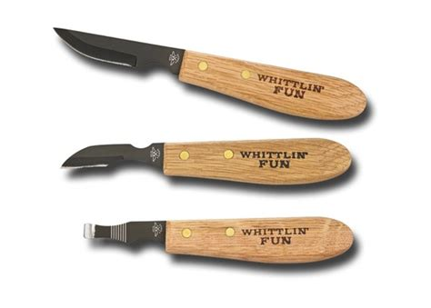 whittling knife set by old forge greenman bushcraft