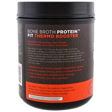 Bone Broth Detox Dr Axe by Dr Axe Ancient Nutrition Bone Broth Protein Fit
