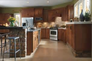 Marvelous rustic kitchen cabinets using wood as base material