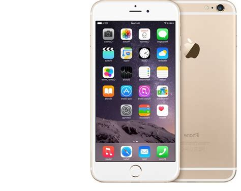 Iphone 6 Plus 16gb Gold apple iphone 6 plus 16gb smartphone for att wireless