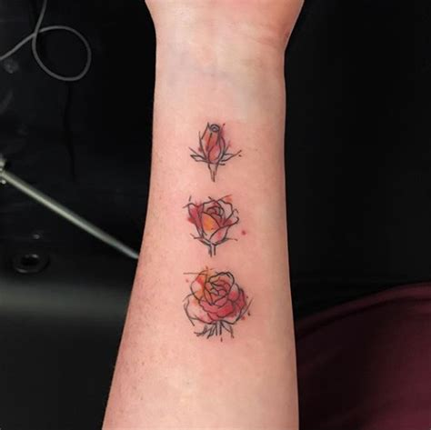 blooming flower tattoo designs 3 tattooblend