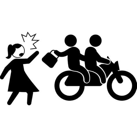 Como Sacar El Record Criminal De Una Persona Motociclistas Criminales Que Roban Bolsa De Mujer Descargar Iconos Gratis