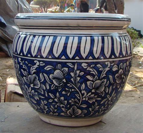 Pottery Planters by Blue Pottery Planter