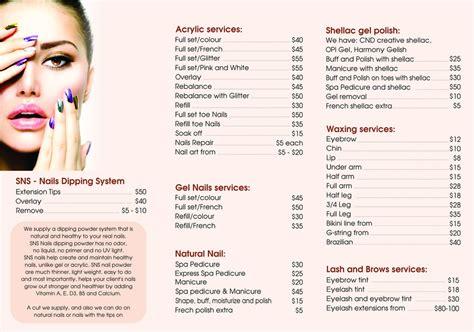 Nail Salon Prices by Bon Bon Nails Spa In Richmond Melbourne Vic Nail