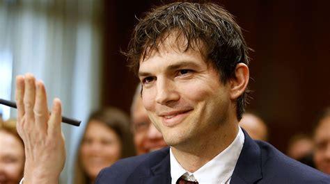 ashton kutcher ashton kutcher blows a to senator mccain