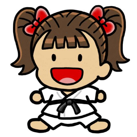 karate clipart karate character clip at clker vector clip