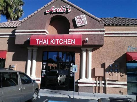 archi s thai kitchen las vegas menu prices
