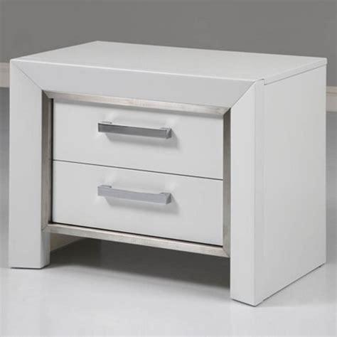 White Nightstand Table Ibiza Nightstand In White Modern Nightstands And