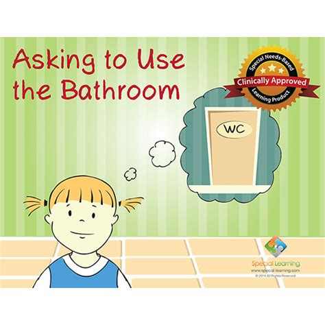using the bathroom social story asking to use the bathroom social story curriculum