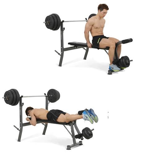 proper incline bench incline flat bench press adjustable home fitness