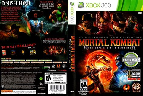 xbox 360 exclusive character for mortal kombat 9 mortal kombat 9 komplete edition xbox 360 r 22 60 no mercadolivre