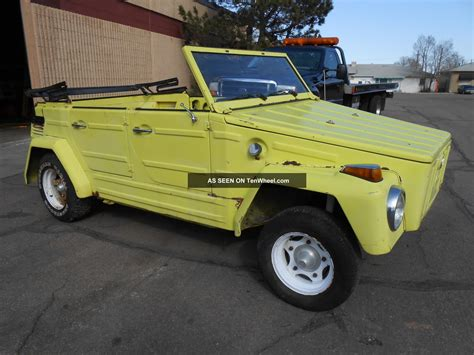 volkswagen thing 1973 vw thing volkswagen thing rabbit motor swap
