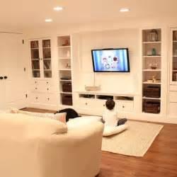 Ikea Basement Ideas hometalk wall of built ins out of ikea hemnes cabinets