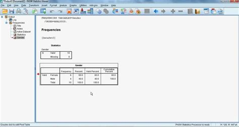 calculation design effect spss spss for beginners 2 frequency counts and descriptive