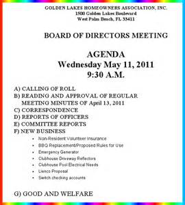 Notice Of Board Meeting Template by Notice Of Hoa Board Meeting Wednesday May 11 9 30 Am