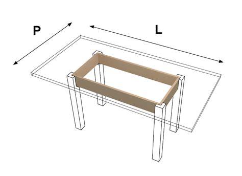 sotto tavolo traverse sotto tavoli