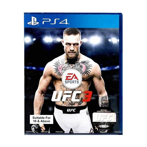 Sony Ps4 Ea Sports Ufc 3 Dvd jual sony ps4 ea sports ufc 3 dvd harga