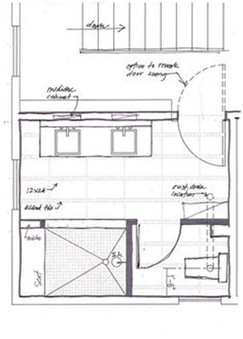 master bath floor plans no tub bathroom layout on pinterest floor plans master