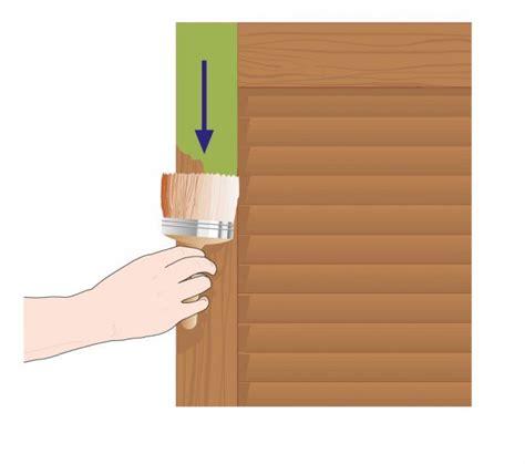 la prima persiana dipingere una persiana in legno cose di casa