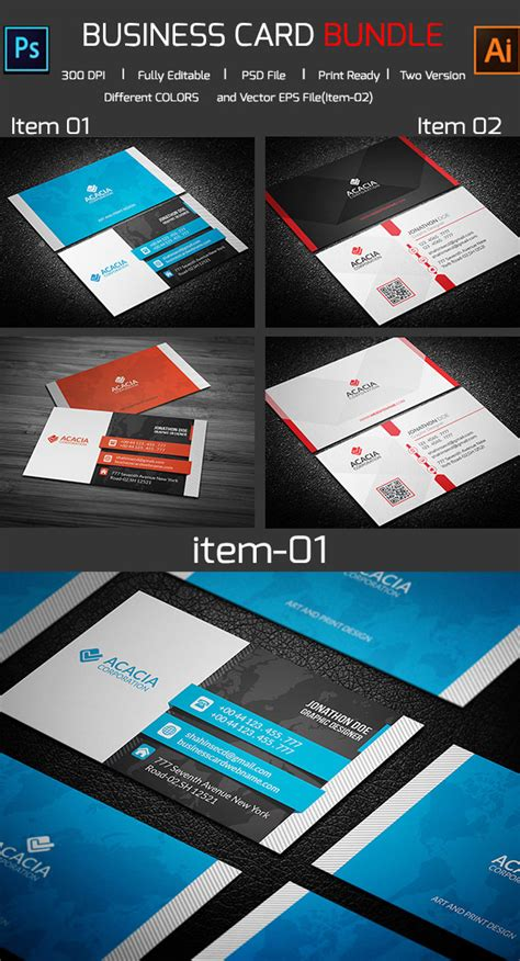 business card template ai 15 premium business card templates in photoshop