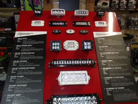 rigid industries led lighting rigid industries led lighting display at woods cycle