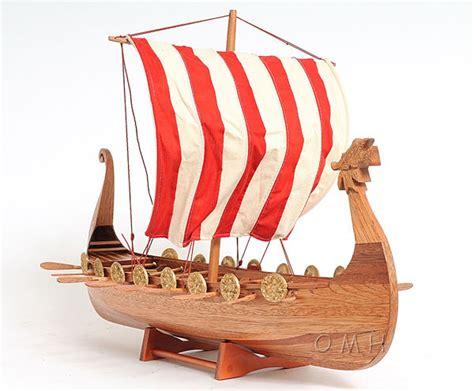 viking boats to make drakkar dragon viking wooden ship model boat 25 quot sailboat
