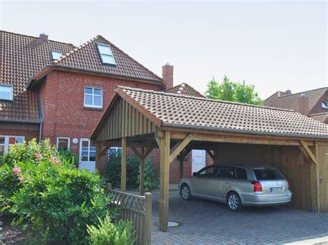 carport vor haus ferienwohnung martha fehmarn d 228 nschendorf firma