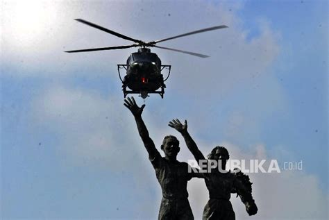 Helikopter Jenis Bell kolonel ontang sempat titip salam pada keluarga